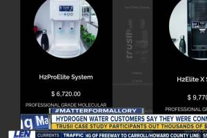 Hydrogen water customers say they were conned into buying expensive systems