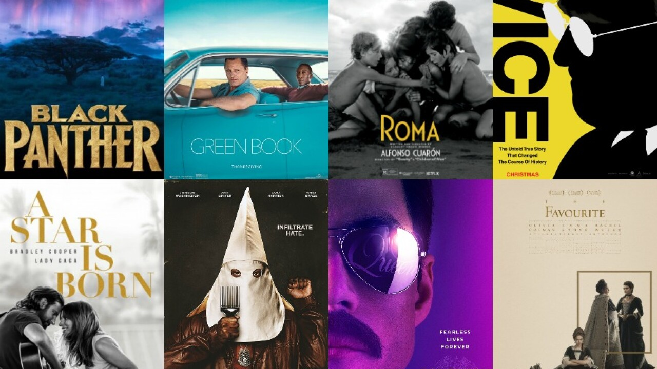 Oscars 2019: Watch trailers of all eight 'Best Picture ...