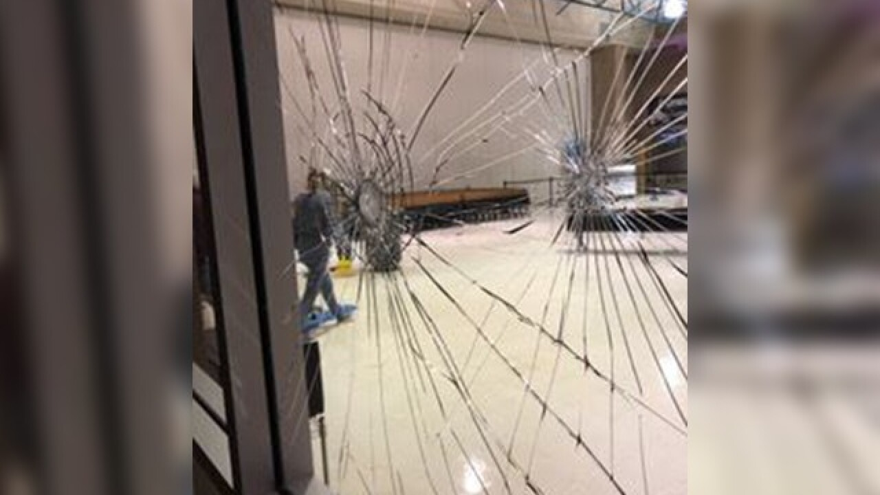 Middle school campus in Vail heavily vandalized