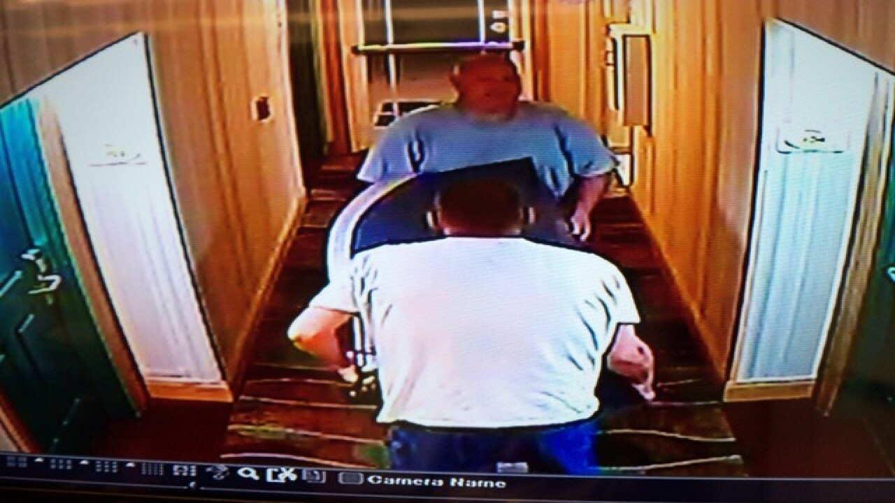 Thieves walk out of hotel with ATM machine