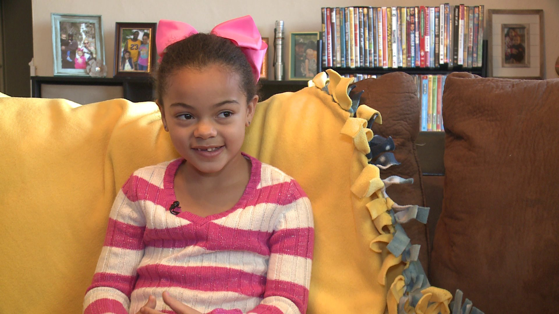 Photos: Young Virginia Beach girl collects more than 1,000 socks for the homeless