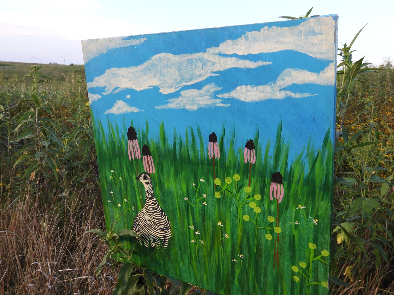 Art on the prairie at Country Life Center