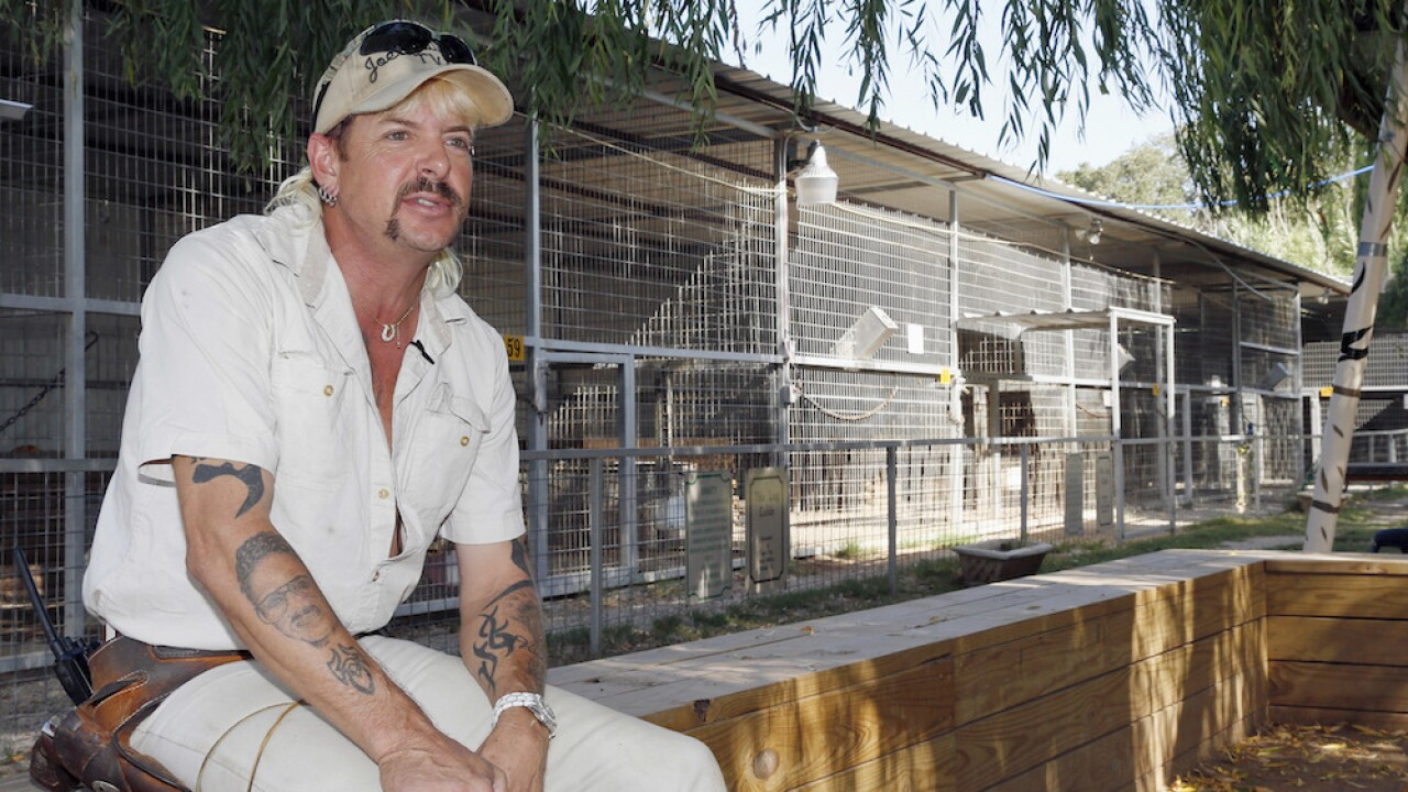 Joe Exotic currently in COVID-19 isolation in prison, husband says
