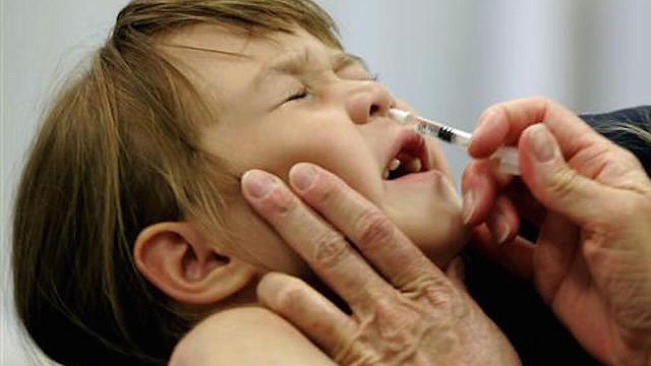 Nasal spray flu vaccine didn't protect as well as shots, researchers say