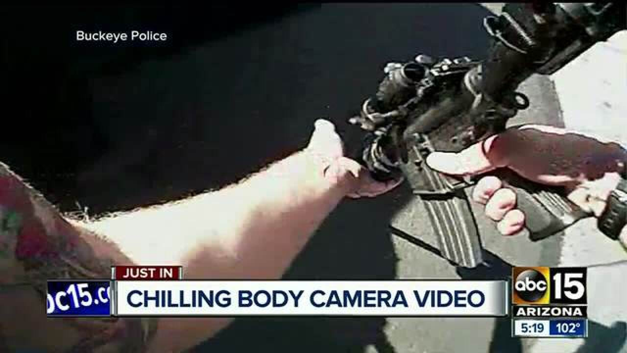 Body camera footage released in 2016 officer-involved