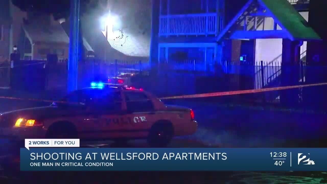 Shooting at Wellsford apartments
