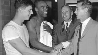 Neil Armstrong, Mike Phipps, Eugene Cernan, Leroy Keyes