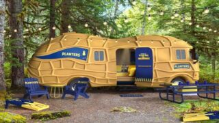 You Can Book An Overnight Stay In The Planters NUTmobile