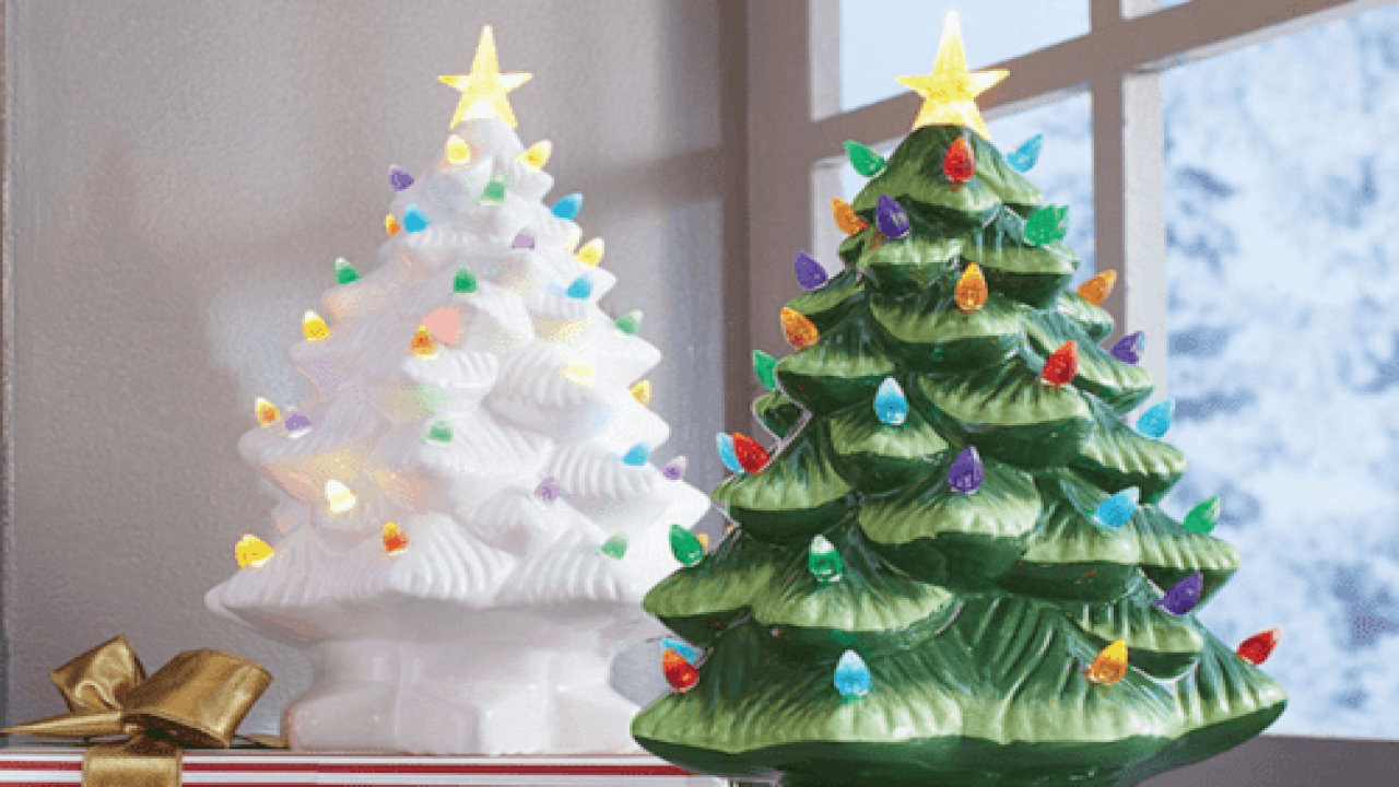 These Ceramic Christmas Trees Are Making A Comeback