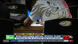 BCSD Discusses Virtual School Plans
