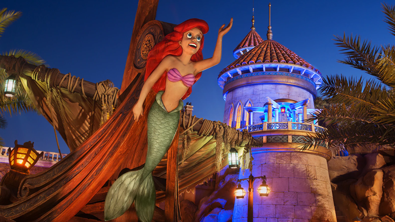 Become Part Of Ariels World And Swim Like A Mermaid At Disney