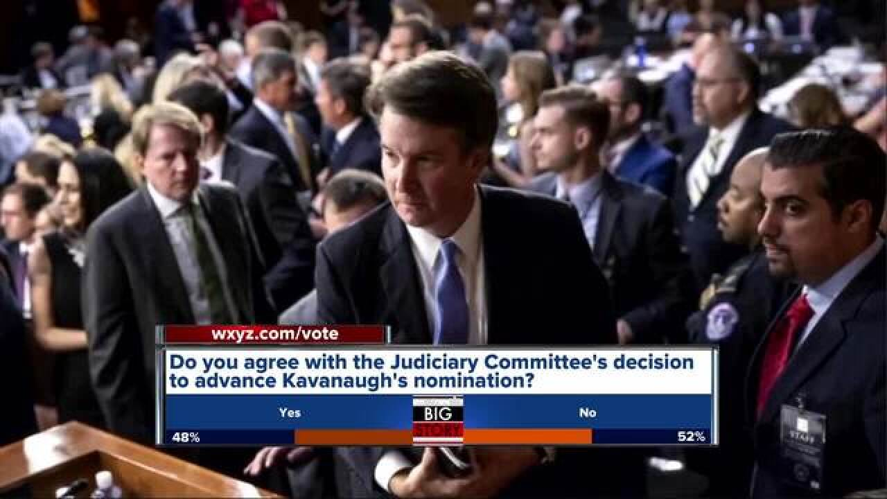 Michigan Senators respond to Kavanaugh vote