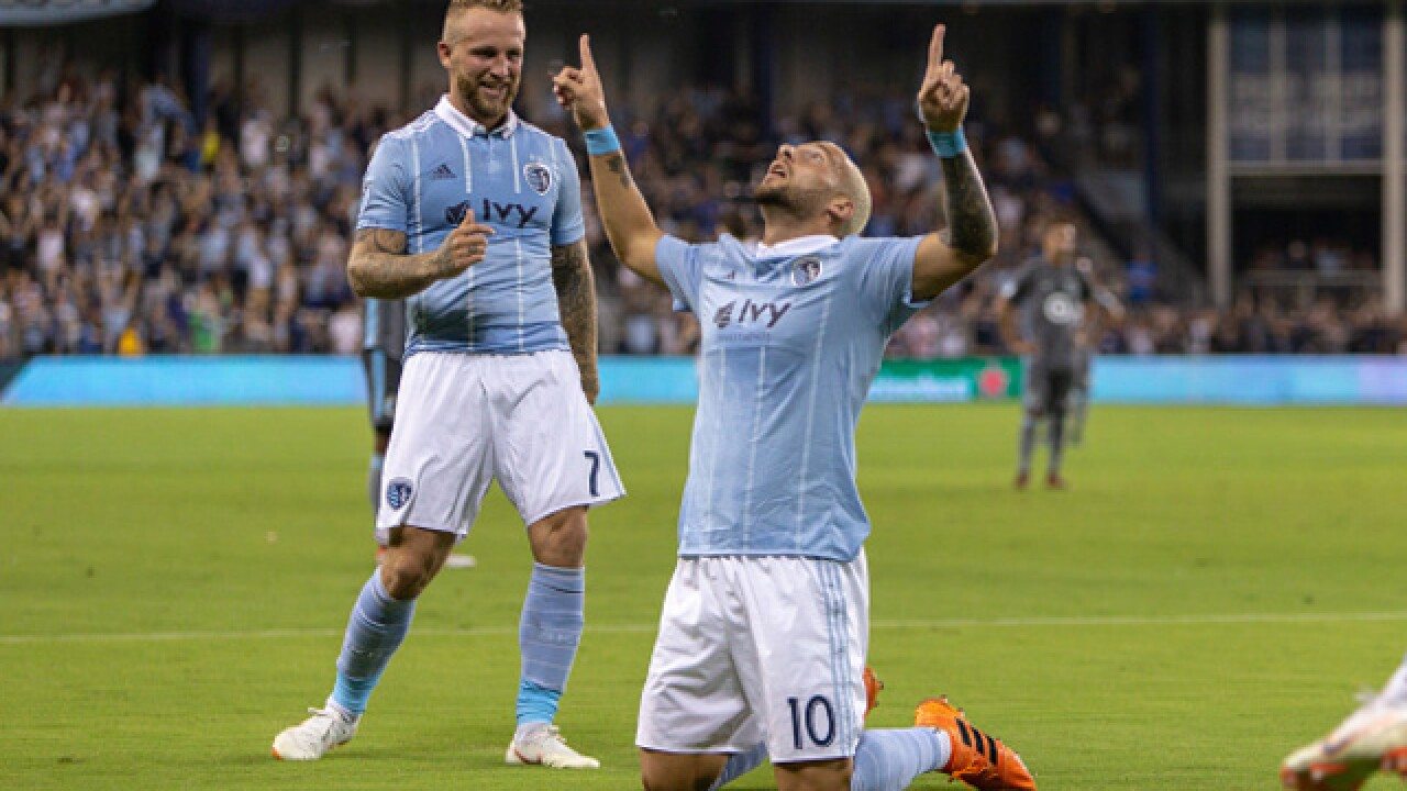 Sporting Kansas City wins its' 4th straight