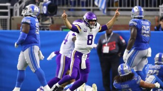 Kirk_Cousins_Minnesota Vikings vDetroit Lions