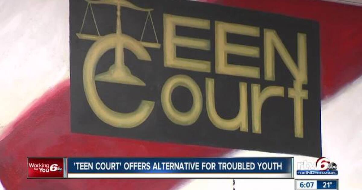 Teen court is way for