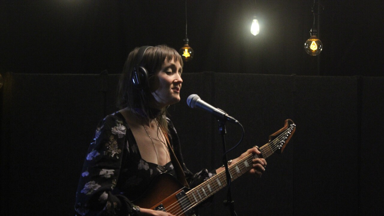 Valley Queen's Natalie Carol performs stripped-down songs from the band's latest album, Supergiant, for WCPO Lounge Acts