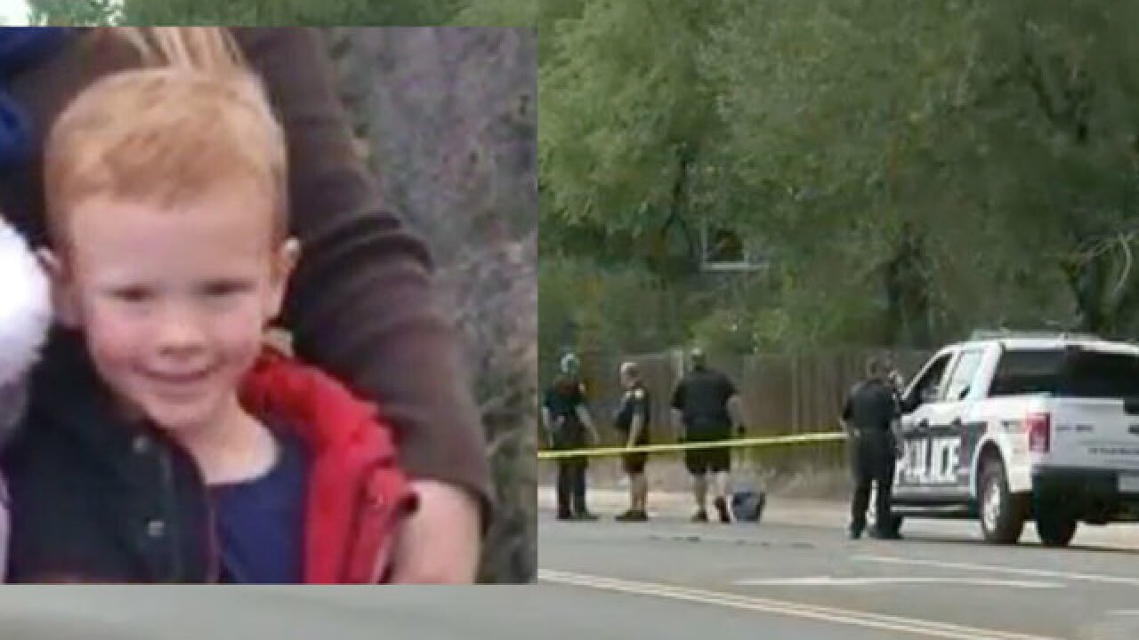 Child killed by float in Colo. Labor Day parade
