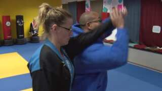 Stress relief comes for free for furloughed workers at Calvary Martial Arts
