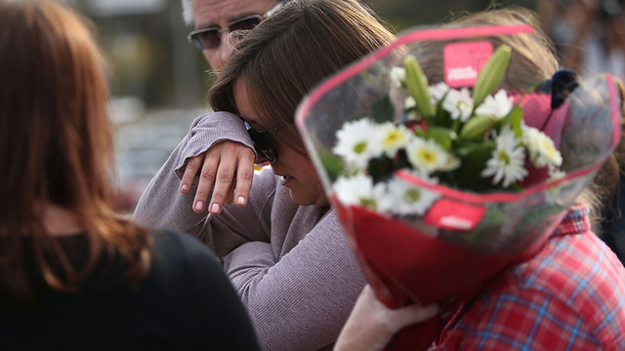 Names of 14 killed in mass shooting released