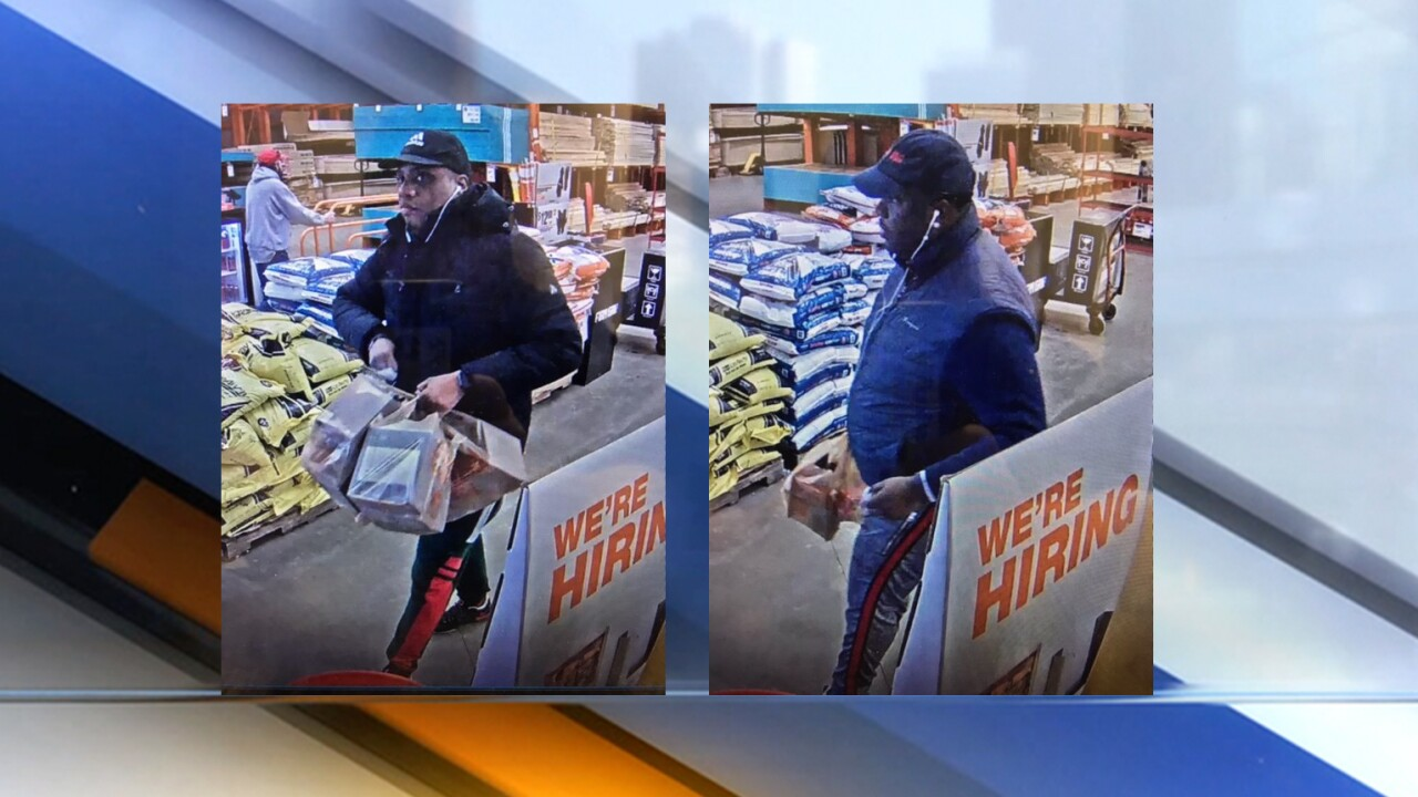 Police Looking To Identify 2 Men Accused Of Using 17 Counterfeit 100 Bills At Macedonia Home Depot