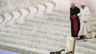 Vatican Pope Back Problem