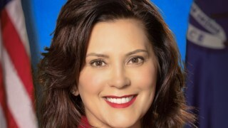 Governor Whitmer in Lansing Thursday