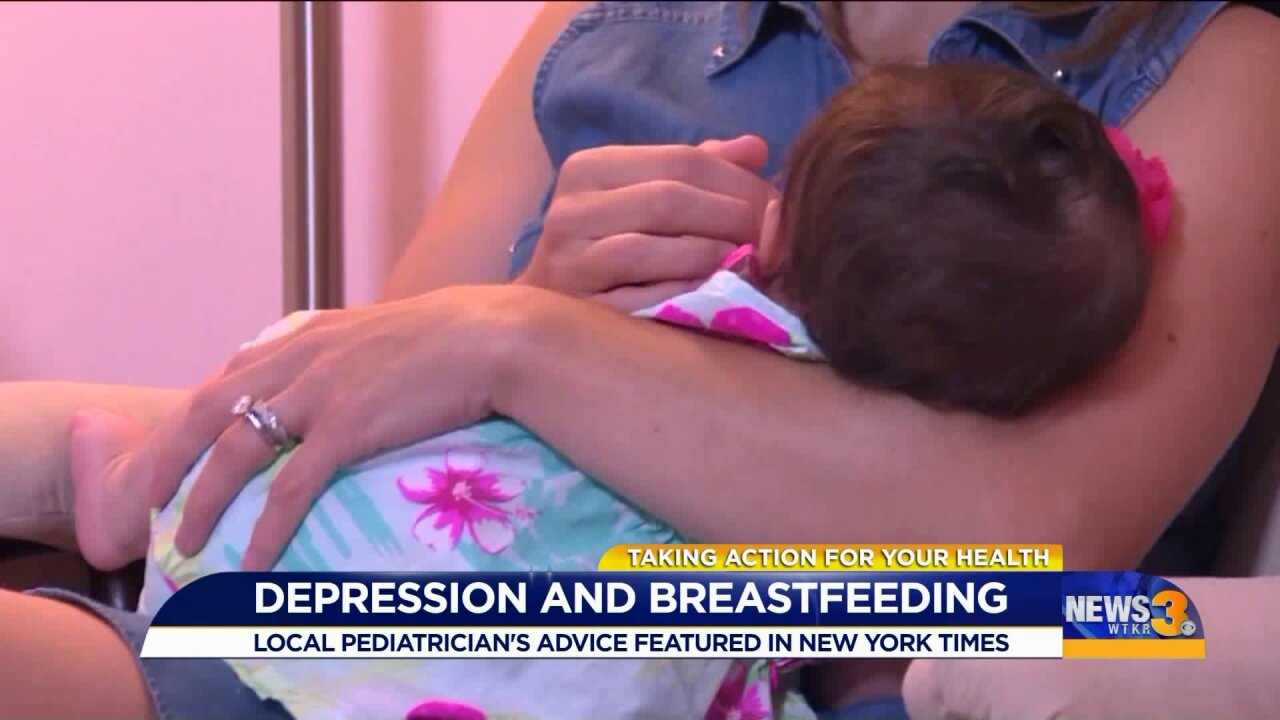 Local pediatrician weighs in breastfeeding while treating depression