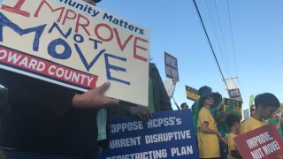 howard county protests