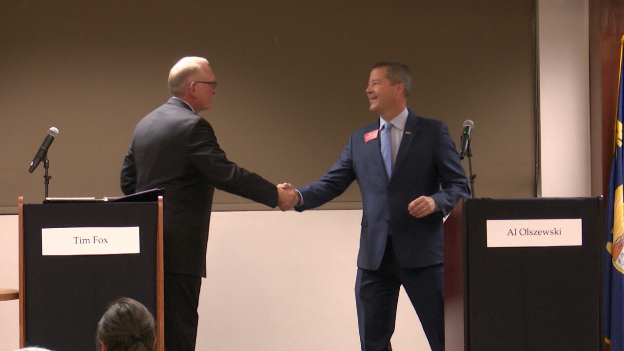 GOP gov-candidate debate has few sparks or contrasts