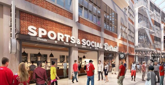 Little Caesars Arena gets 2 new food venues