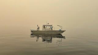 Western Wildfires-Lake Tahoe