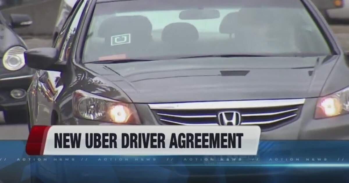 Uber Issues New Legal Agreement For Drivers