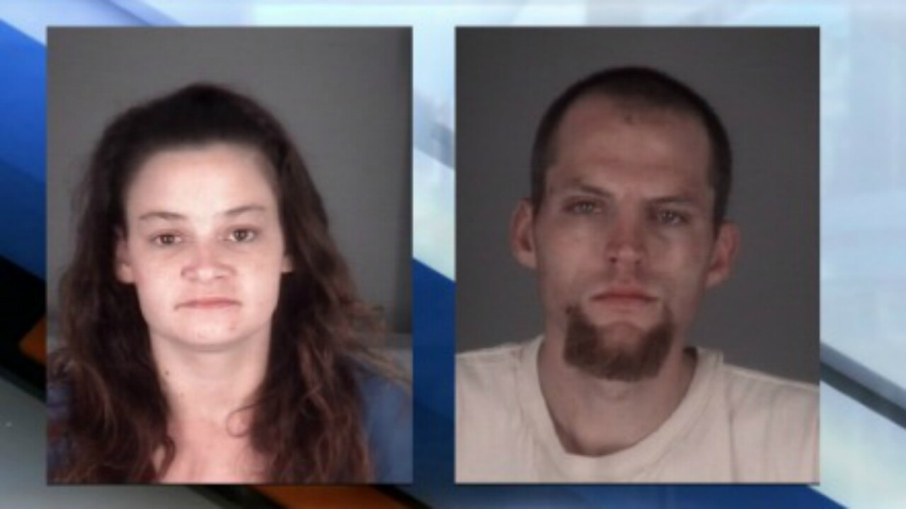 Florida couple arrested after allegedly running red light, killing motorcyclist, stealing car