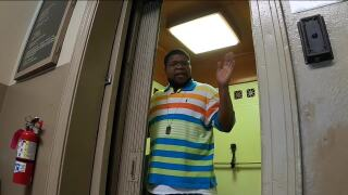 Duane Clemmons elevator operator