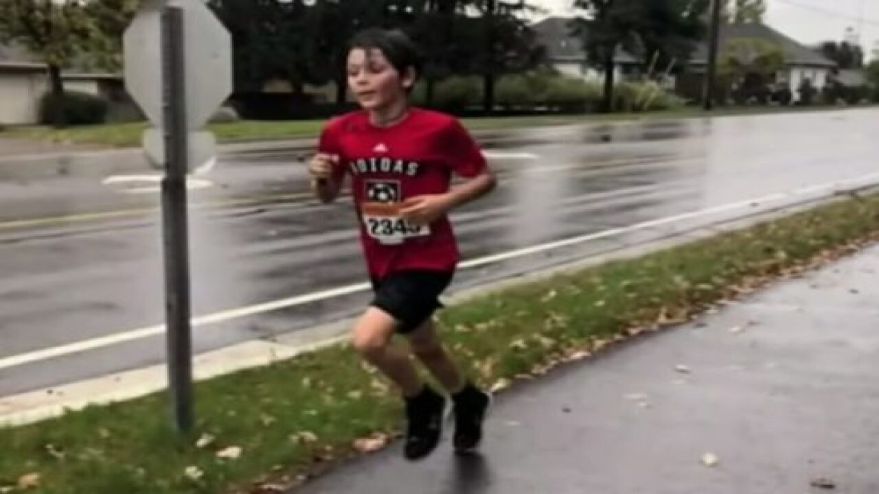 This 9-year-old Won A 10k Race That He Didn't Even Know He Was Running—and Now He's Training For The Junior Olympics