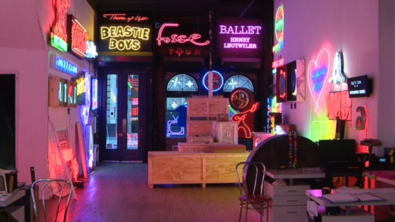 Neon lights making a comeback as smaller businesses desire unique signs