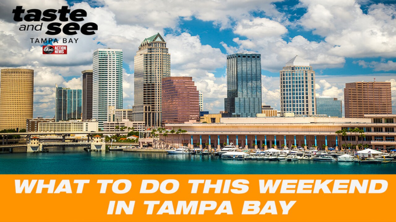 Fun things to do in Tampa Bay this weekend