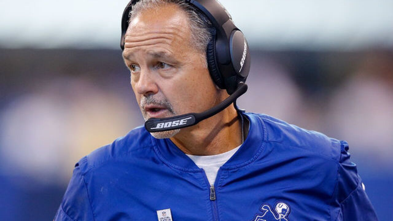 Pagano faces daunting challenge as Colts try to rebound