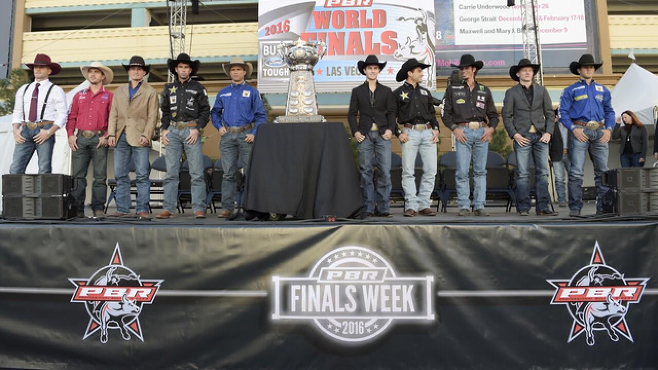 PBR World Finals underway in Las Vegas
