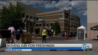 UCCS Move-In Day