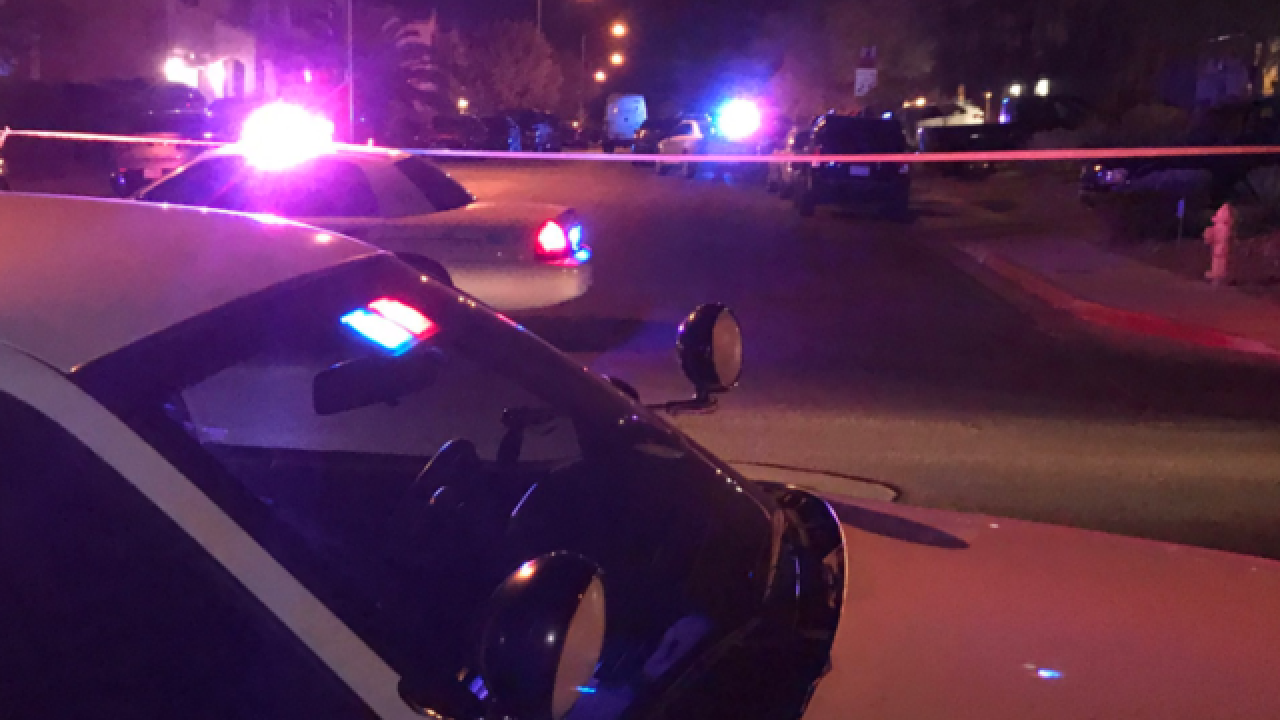 NLV police: girl shot, killed in neighborhood