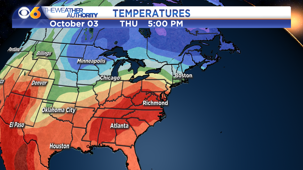 Record highs possible thisweek