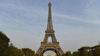 Eiffel Tower closed after man spotted climbing it