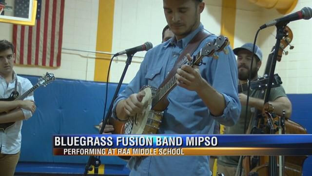 Students at Raa Middle School Treated to Special Performance