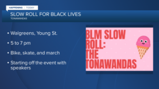Black Lives Matter slow roll rally happening Thursday in the Tonawandas
