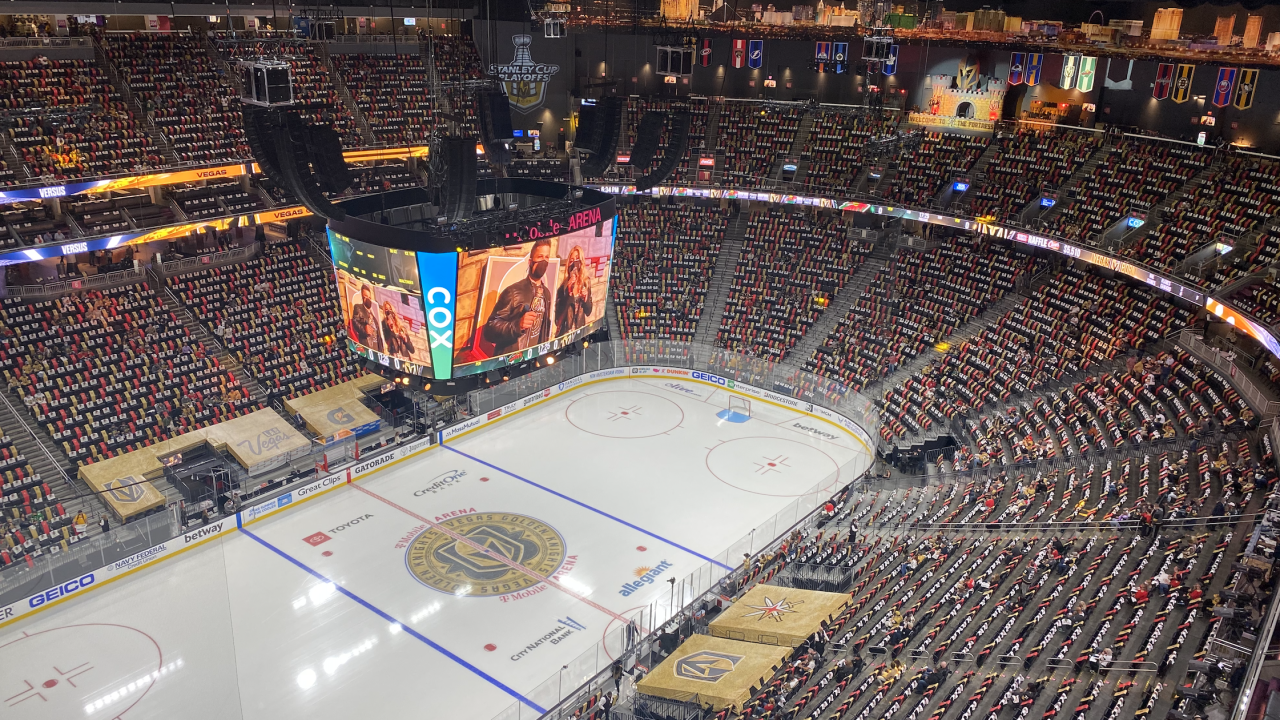 The Vegas Golden Knights host the Minnesota Wild in game two of the first round of the Stanley Cup Playoffs.