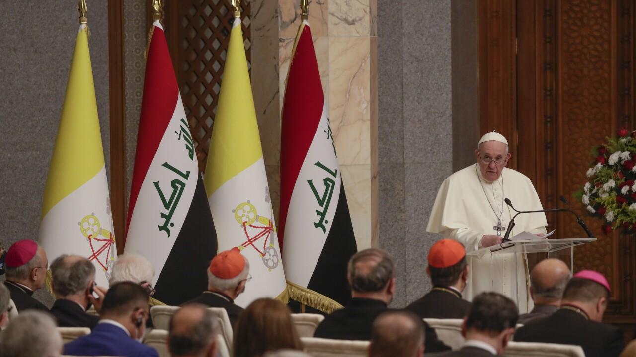 Iraq Pope