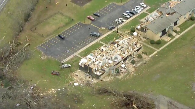 Photos: Sky5 Captures Images Of Tornado Damage
