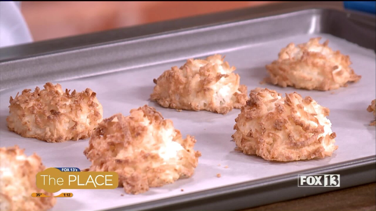 Coconut Macaroon recipe from Eclair FrenchPastry