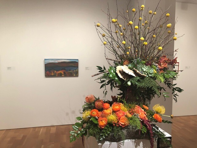 Milwaukee Art Museum hosts Art in Bloom